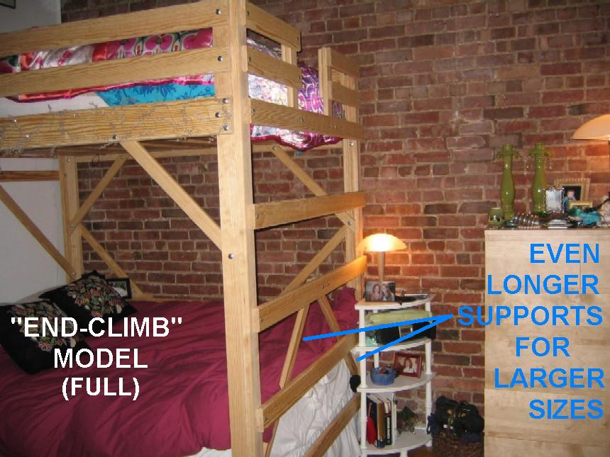 Free College Dorm Loft Bed Plans
