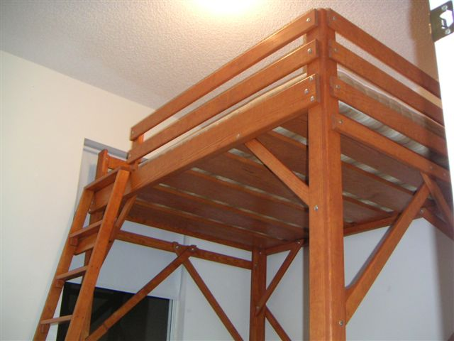 Loft Bed Specialists MC Woodworks Twin Full Queen King Loft Beds .