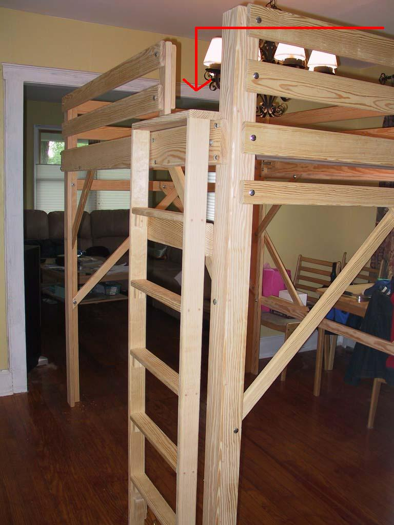 bunk bed ladder and - photo #19