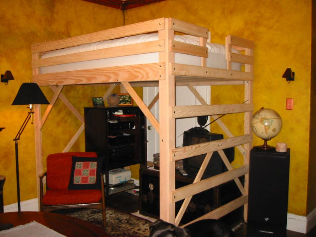 Queen Size Loft Bed