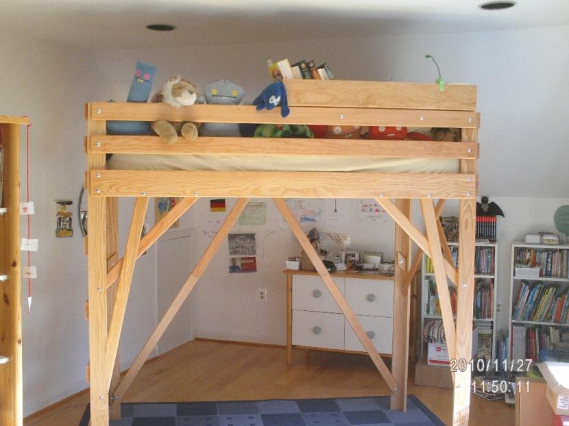 loft bed wobbly 1