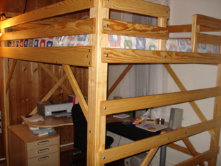 Loft Bed Specialists MC Woodworks: Twin, Full, Queen, King Loft Beds