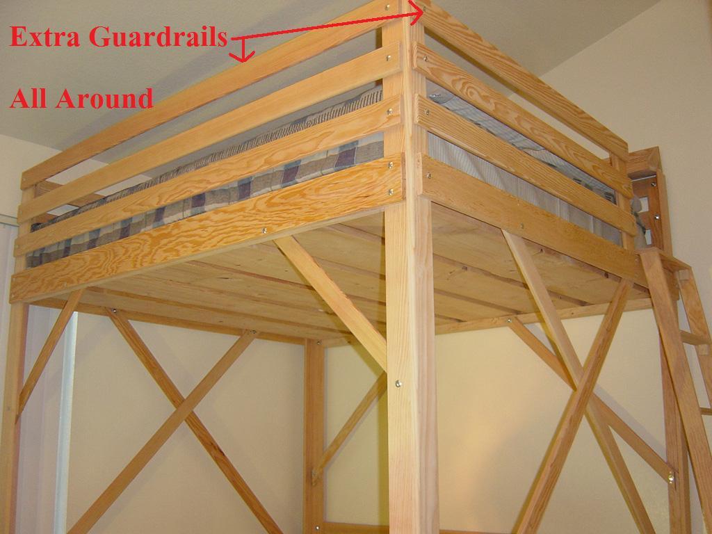 Loft Bed Guardrail Height